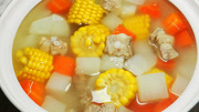 高顏值的玉米胡蘿卜排骨湯
