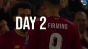 欧冠比赛日2进球全收录!