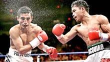 拳击最精彩的KO镜头,泰森先让对手打10拳,随后一拳KO