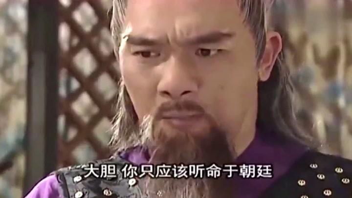 隋唐英雄傳:秦叔寶與楊林理論爭論,執意要救忠臣,怎料反被懟
