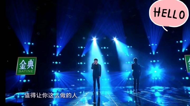 《那女孩對我說》胡彥斌vs隔壁老樊 男生合唱也好聽