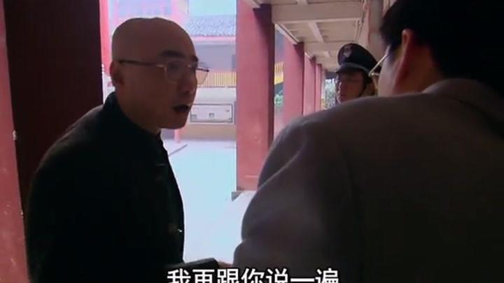 徐崢首次出演反派,一個無良的光頭開發商,據說是零片酬自愿出演